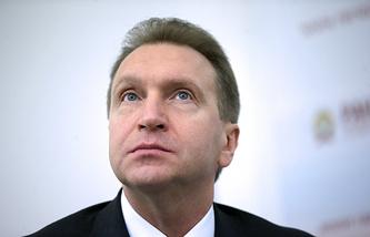 First Deputy Prime Minister Igor Shuvalov