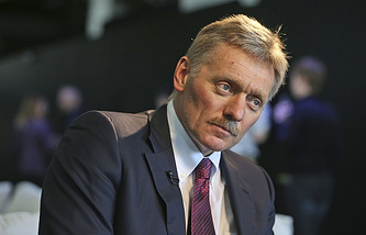 Russian presidential spokesman Dmitry Peskov