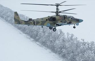 Ka-52 helicopter
