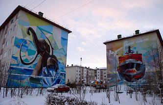 Street art in Salekhard