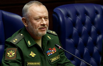 Russian Deputy Defense Minister Alexander Fomin