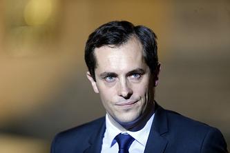 National Front party's secretary general Nicolas Bay