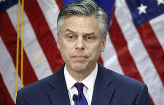 The former Utah governor Jon Huntsman