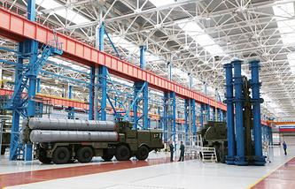 S-400 antiaircraft missile systems