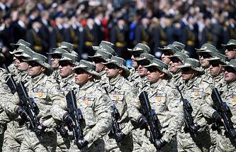 Azerbaijani servicemen