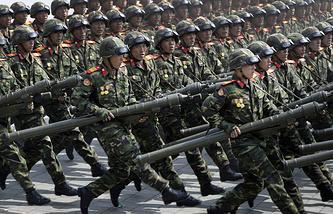 North Korean soldiers