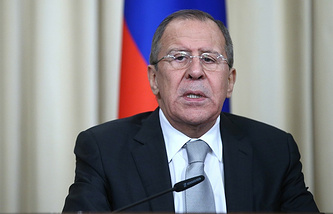 Minister of Foreign Affairs of the Russian Federation Sergey Lavrov