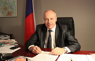 Russia's Consul General in the city of Narva Dmitry Kazennov