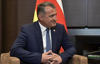 South Ossetian President Anatoly Bibilov
