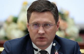 Russian Energy Minister Alexandr Novak