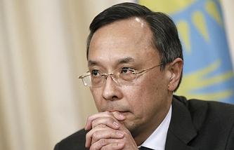 Kazakhstan's Foreign Minister Kairat Abdrakhmanov