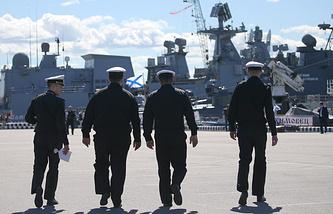International Maritime Defense Show in Saint Petersburg