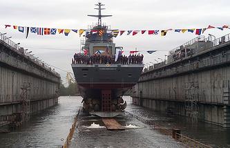 Project 20385 corvette Gremyashchiy