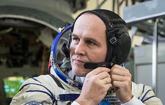 Russian cosmonaut Sergey Ryazansky