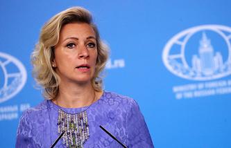 Russia's Foreign Ministry's spokeswoman Maria Zakharova