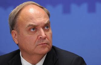 Russian Ambassador to US Anatoly Antonov