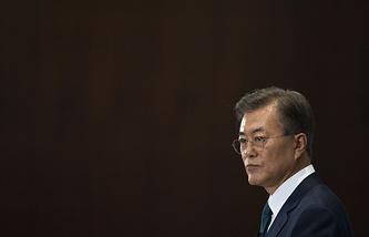 South Korea's President Moon Jae-in