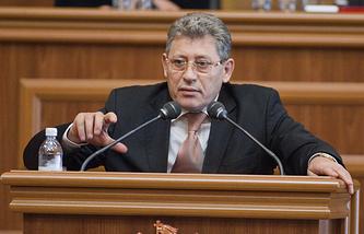Mihai Ghimpu, head of Moldova's Liberal Party