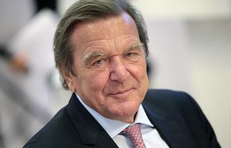 German ex-chancellor Gerhard Schroeder