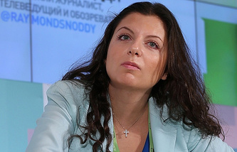 RT Chief Editor Margarita Simonyan
