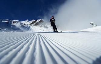 Rosa Khutor Alpine Resort in Krasnaya Polyana, Sochi