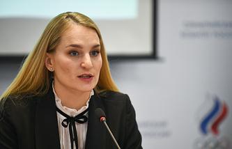 Russian Olympic Committee athletes' commission chair Sofya Velikaya