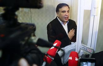 Former Georgian President Mikhail Saakashvili