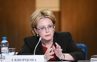Russian Health Minister Veronika Skvortsova