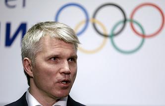 Pavel Kolobkov, Russia's Sports Minister