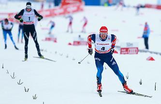 Cross-country skier Maxim Vylegzhanin