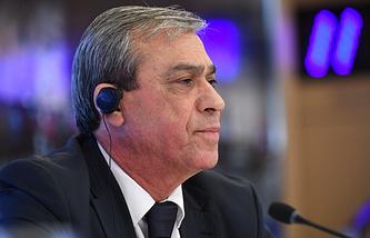 Palestinian Ambassador to Russia Abdel Hafiz