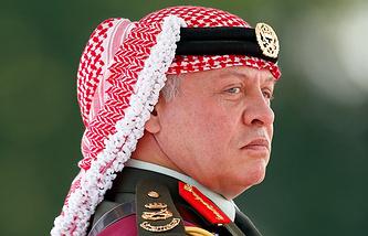 King of Jordan Abdullah II