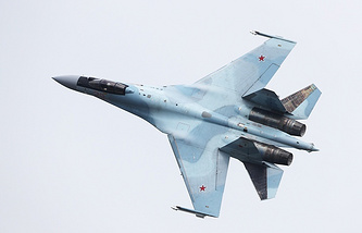 Sukhoi-35 fighter jet