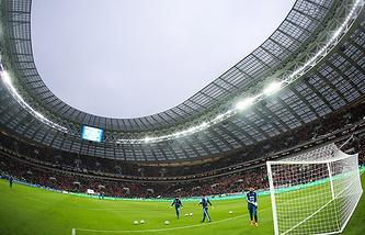 Luzhniki Stadium in Moscow