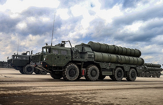 S-400 air defense missile systems