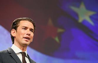 Austrian Chancellor Sebasitan Kurz