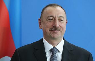 Azerbaijani leader Ilkham Aliyev