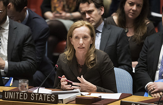 US envoy at the UN Security Council Kelley Currie