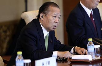 Toshihiro Nikai, secretary general of Japan's ruling Liberal Democratic Party