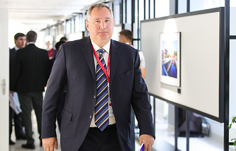 Roscosmos head Dmitry Rogozin