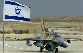 Israel's F-16 fighter