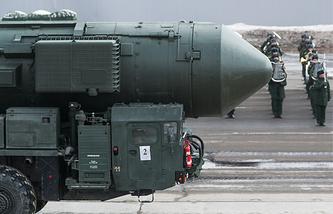 Yars intercontinental ballistic missile complex