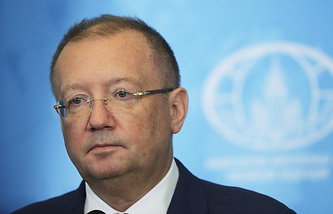 Russia's ambassador to the UK, Alexander Yakovenko