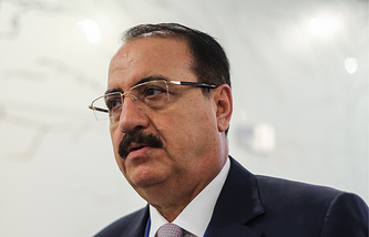 Syrian Ambassador to Russia, Riyad Haddad