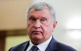 Rosneft CEO Igor Sechin