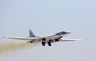Tu-160 strategic bomber