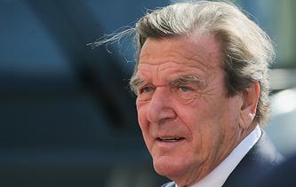 Former German Chancellor Gerhard Schroeder