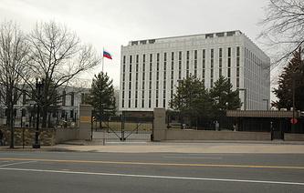Russia's Embassy in Washington, DC