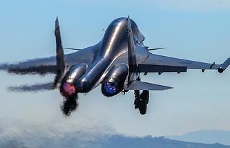 Su-34 fighter jet