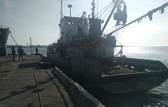 Nord fishing vessel